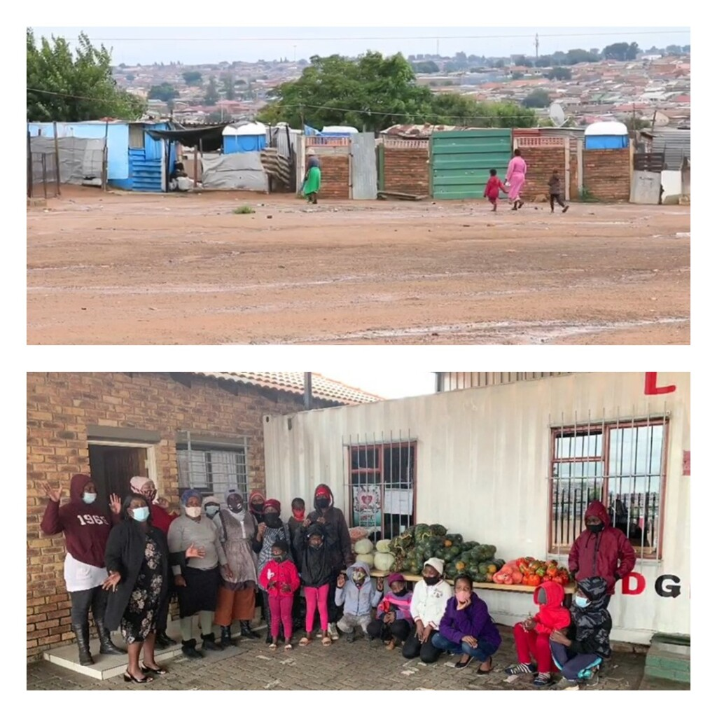 Non-profit organization that feeds vulnerable and orphaned children from the Vusimuzi informal settlement, in Thembisa.